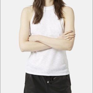 4/$30 White Topshop muscle top